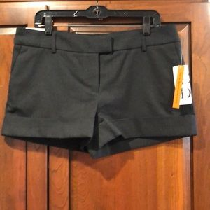 City fit size 12 Dalia NWT fall shorts black gray